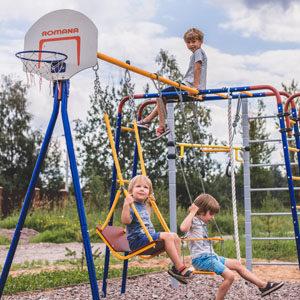 Детские спортивные комплексы для дачи