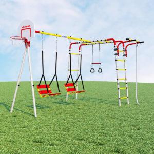 detskij sportivnyj kompleks dlja dachi romana akrobat 2 kacheli cepnye