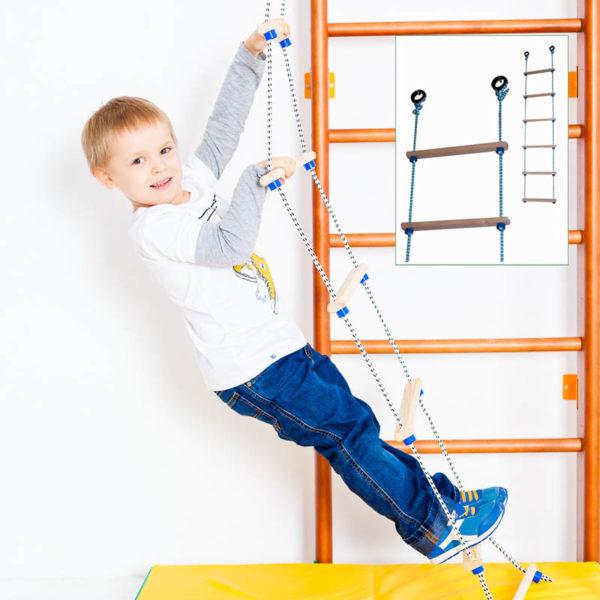 Лестница веревочная - трап