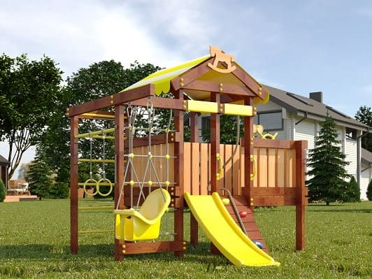 Детский игровой комплекс для дачи САВУШКА BABY PLAY - 6