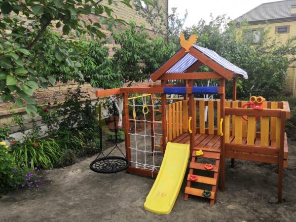 Детская площадка Савушка Baby play 6 фото