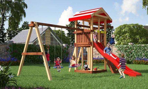 Детский игровой комплекс для дачи Савушка 8