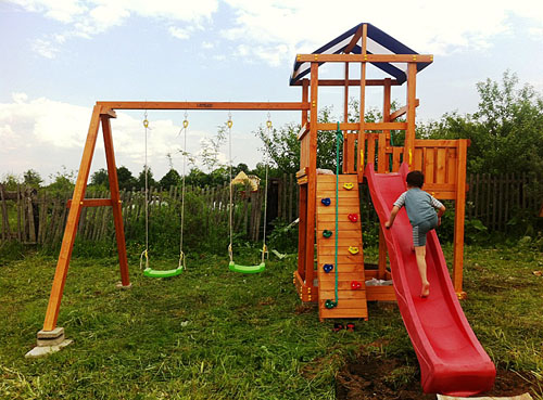 Детская площадка Самсон Бретань 500