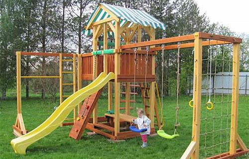 Савушка 15 детская площадка