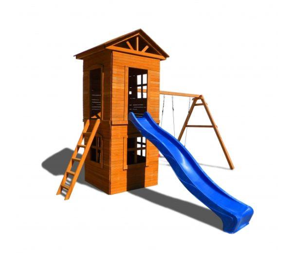 Спортивный городок 8 с узкой лестницей