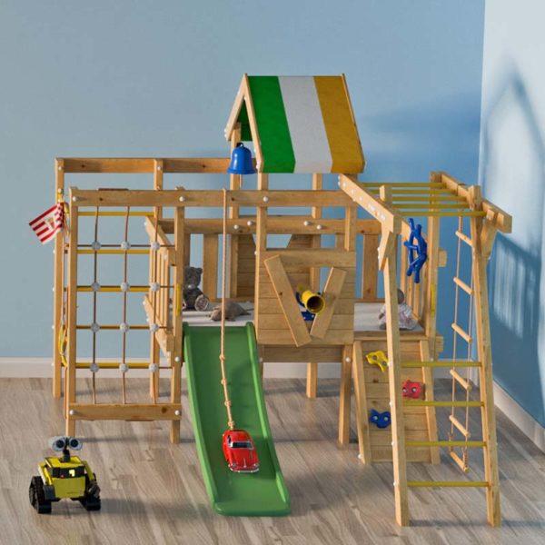 Детский игровой комплекс-чердак Валли