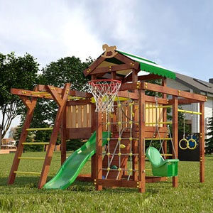 Детские площадки для дачи Савушка
