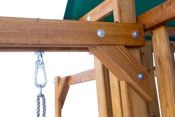 2igrovaja ploshhadka babygarden s balkonom skalolazkoj i gorkoj 1.8m