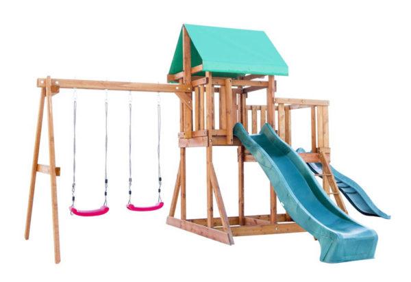 detskaja ploshhadka babygarden s balkonom i dvumja gorkami1