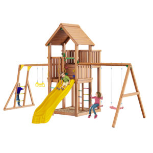 detskaja ploshhadka jungle palace swing xtra rukohod s gimnasticheskimi kolcami