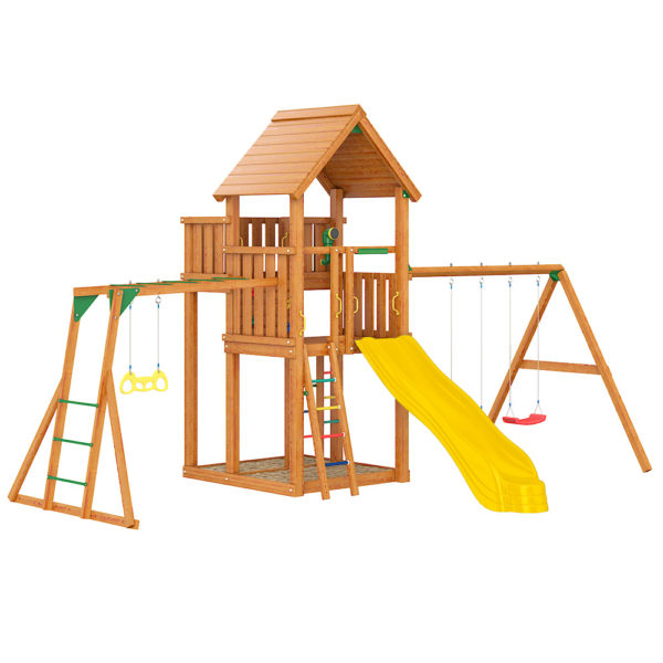 detskaja ploshhadka jungle palace swing xtra rukohod s gimnasticheskimi kolcami1