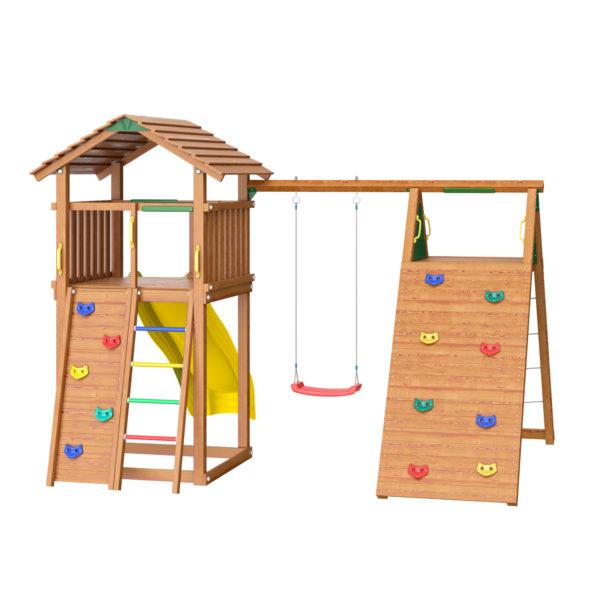 detskie gorodki jungle cottage climb module xtra2