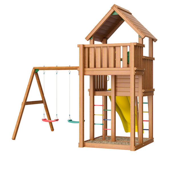 detskie gorodki jungle palace swing xtra2