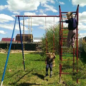Детские площадки для дачи Вертикаль