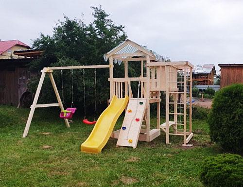 Савушка Мастер 3 - детская площадка