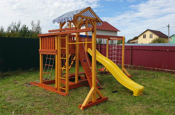Детская площадка Савушка 15 с гнездом 0.8м.