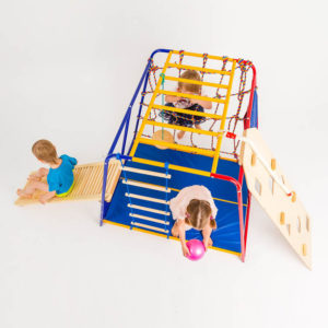 komplekt sportswill baby hit classic pljus rolikovaja doska pljus skalodrom i kanat