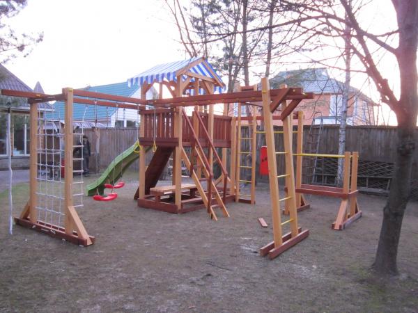 Детская площадка Савушка 4 Сезона 10 фото4