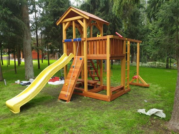 Детская площадка Савушка 4 Сезона 5 фото