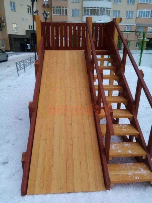 Зимняя горка Савушка Зима 3-фото