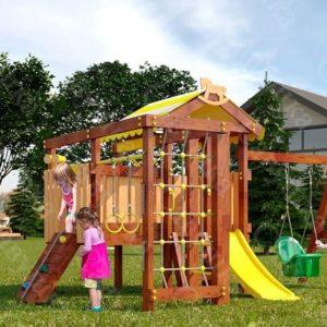 Детский игровой комплекс для дачи САВУШКА BABY PLAY – 11