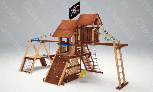 Игровой комплекс Савушка Lux – 11_4