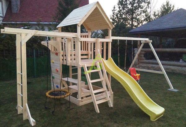Детская площадка IgraGrad Крафт Pro 2-2