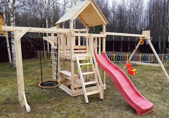 Детская площадка IgraGrad Крафт Pro 2-700