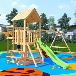 Детские площадки для дачи IgraGrad DIY