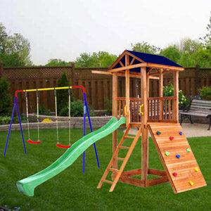 Детские площадки для дачи Микс