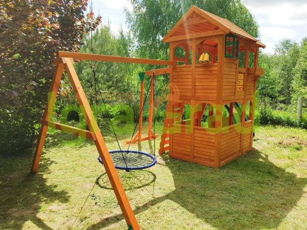 IgraGrad Клубный домик 2 с рукоходом_5