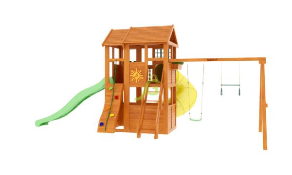 IgraGrad Клубный домик 2 с трубой_2