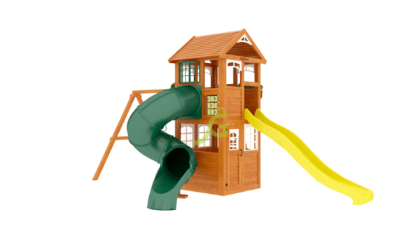 IgraGrad Клубный домик с трубой Luxe