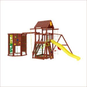 Детская площадка IgraGrad Панда Фани Gride с WorkOut