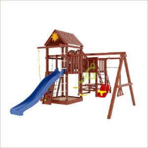 Детская площадка IgraGrad Панда Фани Мостик-1