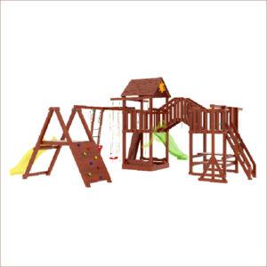 Детская площадка IgraGrad Панда Фани Мостик 2-1