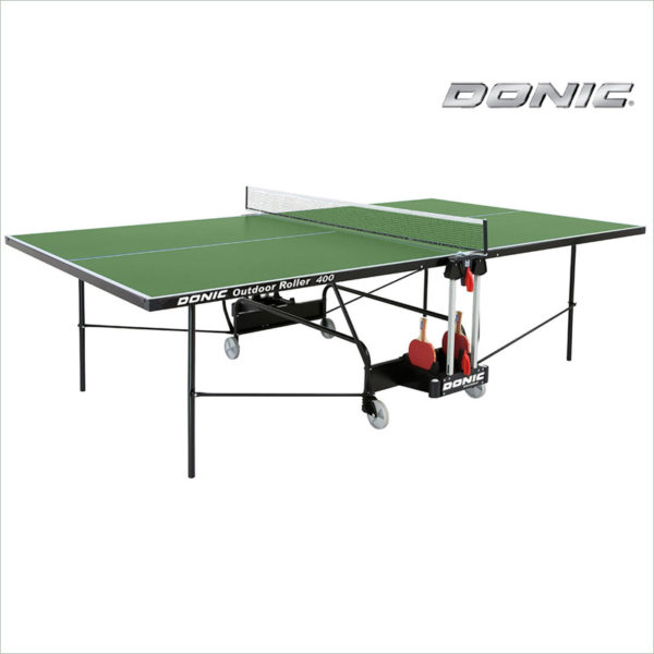 vsepogodnyj tennisnyj stol donic outdoor roller 400 zelenyj