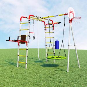 detskij sportivnyj kompleks dlja dachi romana fitness kacheli gnezdo
