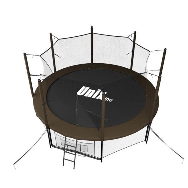 батут unix line blackbrown 10 ft inside4