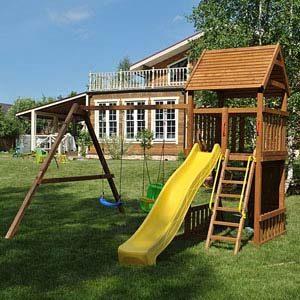 Детские площадки для дачи Африка