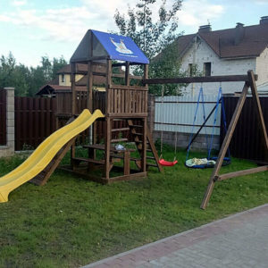 детская площадка Росинка 2 качели гнездо