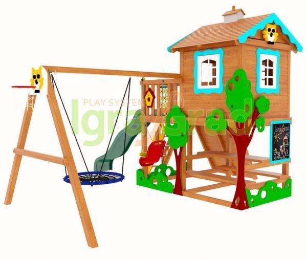 детская площадка igragrad домик 1 1