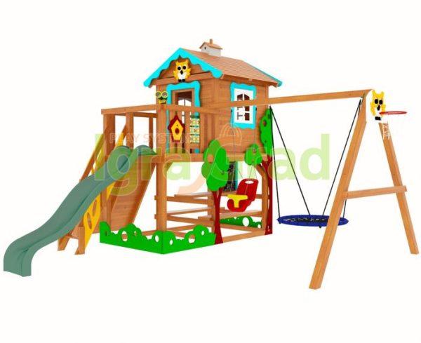 детская площадка igragrad домик 1 5