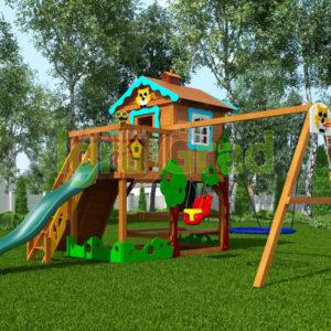 детская площадка igragrad домик