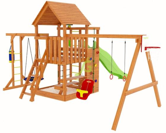 детская игровая площадка igragrad крафт pro 4 1