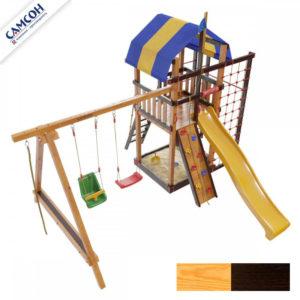 Детская площадка для дачи Самсон Аляска Комби 3