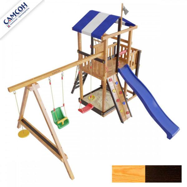 Детская площадка для дачи Самсон Бретань Комби 9