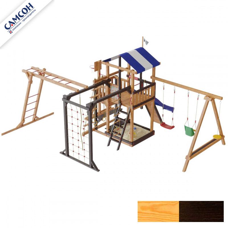 Детская площадка для дачи Самсон Бретань Семейная 7