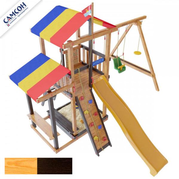 Детская площадка для дачи Самсон Кирибати Комби 8