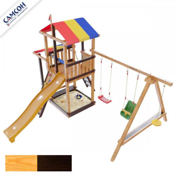 детская площадка для дачи самсон Кирибати комби1